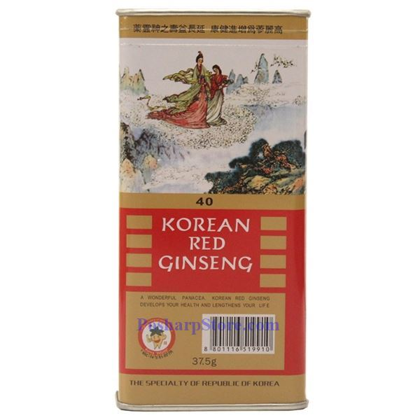 Picture for category Korean Red Ginseng 40,  1.32 oz