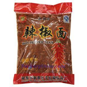 Picture of Junhu Crushed Sichuan Chili Pepper 1 Lb