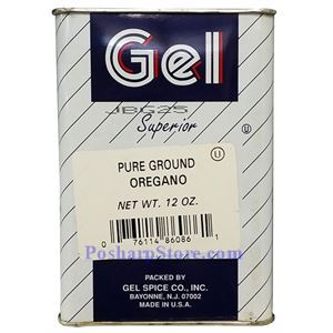 Picture of Gel Spice Superior Pure Ground Oregano 12 Oz