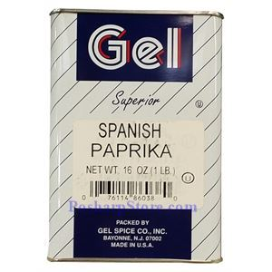 Picture of Gel Spice Superior Spanish Paprika 16 Oz