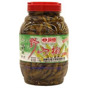 Picture of Chengdu Yingpeng Pickled Yeshanjiao Chili Peppers 2.2 Lbs