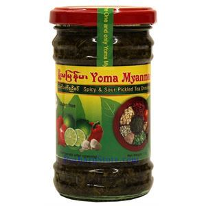 Picture of Yoma Myanmar Spicy and Sour Pickled Tea Salad Dressing 7 Oz