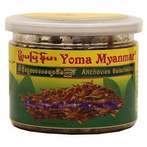 Picture of Yoma Myanmar Anchovies Balachong Tea Salad Topping 4 Oz
