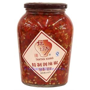 Picture of Tantan Xiang Hunan Style Chopped Pickled Red Chili Peppers (Duolajiao) 1.82 Lbs
