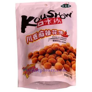 Picture of KouShow Sichuan Style Spicy Crispy Peanuts 5.3Oz