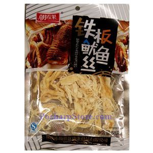 Picture of Zhaoxiaguo Prepared Teppanyaki  Squid Shreds 2 Oz