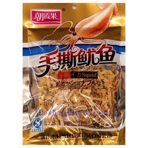 Picture of Zhaoxiaguo Prepared Squid Shreds 2 Oz