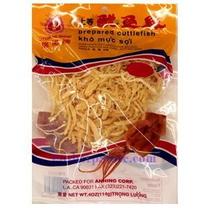 Picture of Lungfong Brand Prepared Cuttlefish Shreds 4 Oz