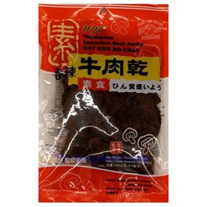 Picture of Mong Lee Shang Spicy Vegetarian Beef Jerky 5.6 Oz