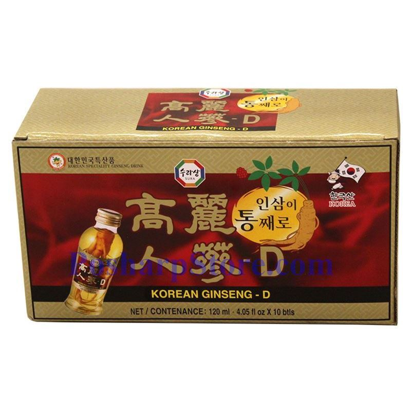 分类图片 韩国Sura牌高丽人参 10瓶