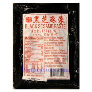 Picture of New Food House Black Sesame Paste 16 Oz