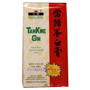 Picture of Royal King Tankwe Gin (Angelica Sinensis Extra)  Extra Strength 6.7 Fl Oz