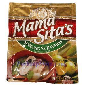 Picture of Mama Sita's Sinigang Sa Bayabas Guava Soup Base  Mix  1.4 Oz