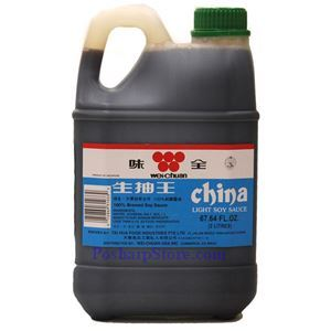 Picture of Wei-Chuan Light Soy Sauce 4.2 Lbs