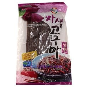 Picture of Sura Korean Purple Sweet Potato Starch Noodles 12 Oz