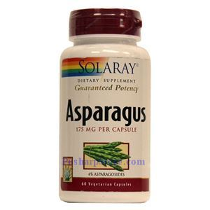 Picture of Solaray Asparagus 175 mg   60 Capsules