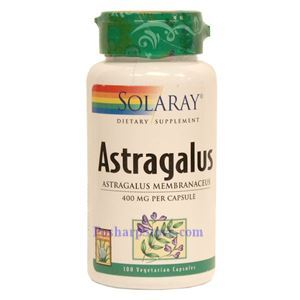 Picture of Solaray Astragalus 200MG 100 Vegetarian Capsules