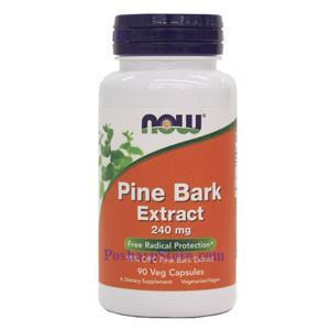 Picture of Now Foods Pine Bark Extract 240mg 90 Veg Capsules
