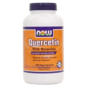Picture of Now Foods Quercetin with Bromelain 240 Veg Capsules
