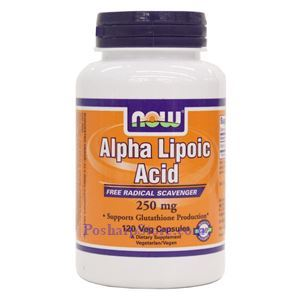 Picture of Now Foods Alpha Lipoic Acid 250mg 120 Veg Capsules