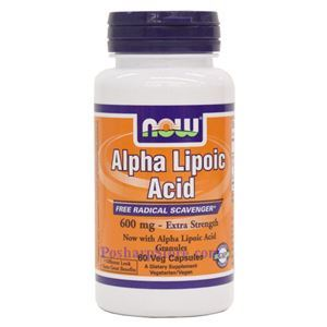 Picture of Now Foods Alpha Lipoic Acid Extra Strength 600mg  60 Veg Capsules