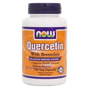 Picture of Now Foods Quercetin with Bromelain 120 Veg Capsules