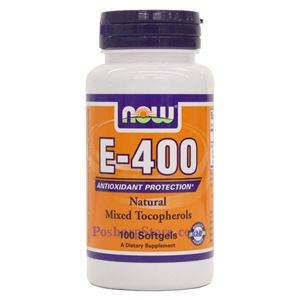 Picture of Now Vitamin E-400 IU MT 100 Softgels