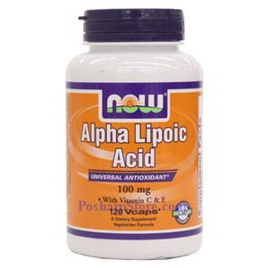 Picture of Now Foods Alpha Lipoic Acid 100mg 120 Veg Capsules