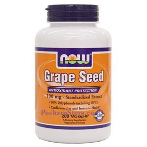 Picture of Now Foods Grade Seed 100mg 200 Vcaps