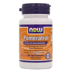 Picture of Now Foods Pomeratrol 60 Softgels