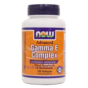 Picture of Now Foods Advanced Gamma E Complex 120 Softgels