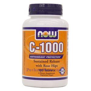 图片 Now Foods牌缓释维生素C 1000毫克 100片