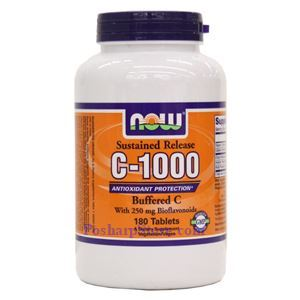 Picture of Now Foods Foods Vitamin C-1000 Complex Buffered 180 Tablets