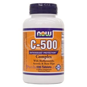 Picture of Now Foods Vitamin C-500  Complex 100 Tablets