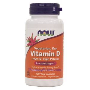 Picture of Now Foods Vitamin D 1000 IU 120 Softgels