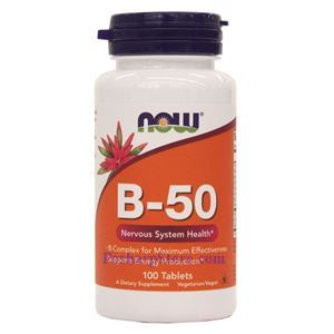 Picture of Now Foods Vitamin B-50 100 Tablets