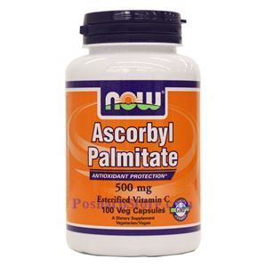Picture of Now Foods Ascorbyl Palmitate 500 mg 100 Veg Capsules