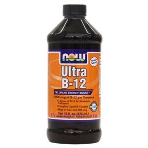 Picture of Now Foods Ultra B-12 Liquid  16 oz