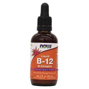 图片 Now Foods牌复合维生素B-12液体 59毫升