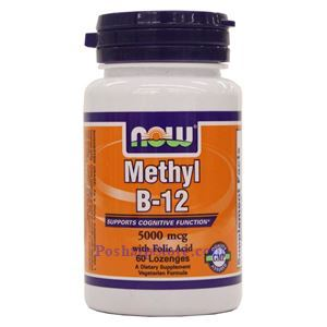 Picture of Now Foods Methyl B-12 5000 mcg 60 Lozenges