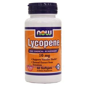 Picture of Now Foods Lycopene 10 mg 60 Softgels