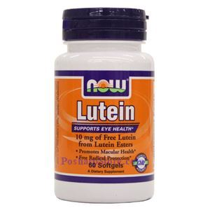 Picture of Now Foods Lutein 10 mg 60 Softgels