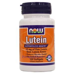 Picture of Now Foods Lutein 10 mg 120 Softgels