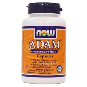 Picture of Now Foods ADAM™ Superior Men's Multiple Vitamin 90 Veg Capsules