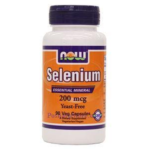 Picture of Now Foods Selenium 200mcg 90 Veg Capsules