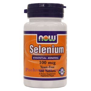 Picture of Now Foods Selenium 100 mcg 100 Tablets