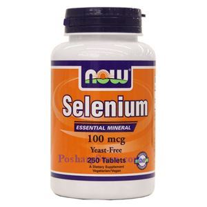 Picture of Now Foods Selenium 100 mcg 250 Tablets