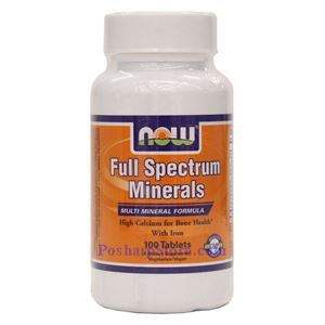 Picture of Now Foods Full Spectrum Minerals 100 Tablets