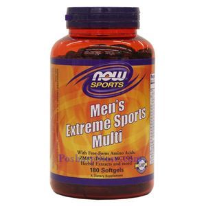 Picture of Now Foods Men's Extreme Sports Multi 180 Softgels