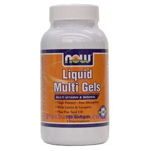 Picture of Now Foods Liquid Multi Gels 180 Softgels